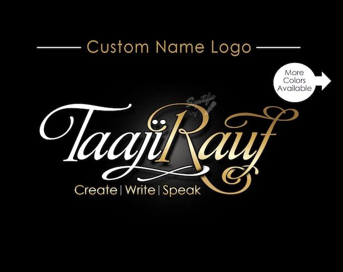 Custom Name logo, Logo Design, Logo, Business Logo, Logo Custom, Signature Logo, Text Logo, Logos, Logo for Name, Logo Designer, Branding