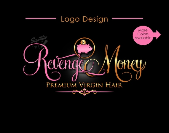 Hair Extensions Logo, Hair Logo, Hair Business Logo, Logo Design, Hair Bundle Logo, Hair Tag Logo, Logo for Hair, Design Logo, Hair Branding