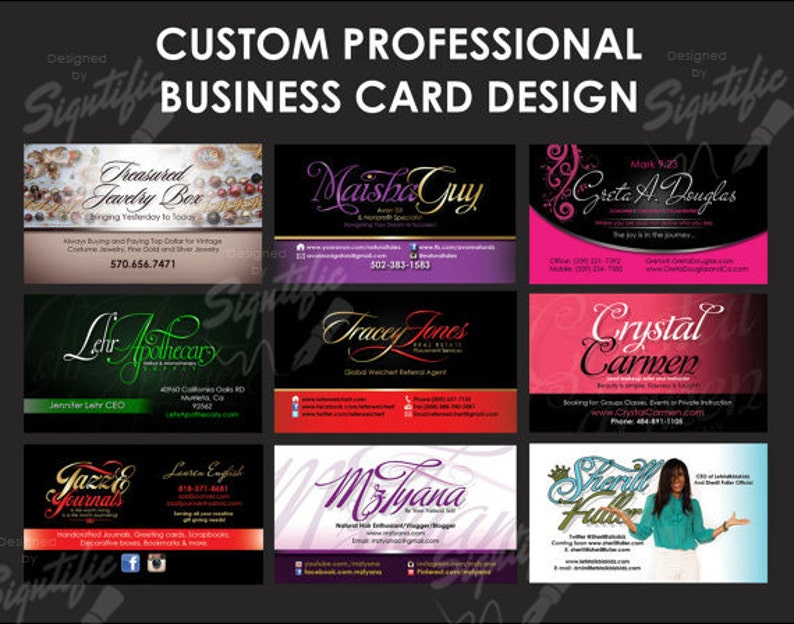 56bc05dd70ba3 Professional business card design print ready visit card