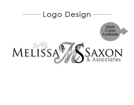 Real Estate Agent Logo with Initials, Logo Design, E-mail Signature for Agent, Professional Signature Logo, Real Estate Sign Rider Logo