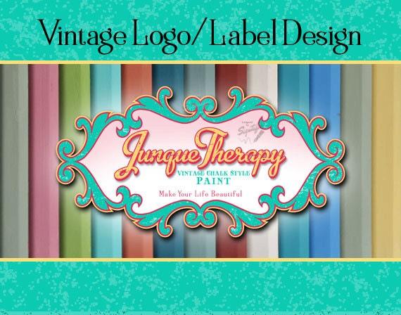 Vintage Label, Logo Design,  Business Sign Logo, Distressed Logo, Retro Logo, Stamp Logo Design, Wall Logo, T-shirt Logo, Colorful Logo