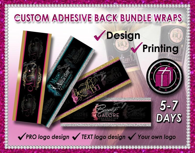 Custom Bundle Wraps Hair Wrap Design Hair Band Printing image 0