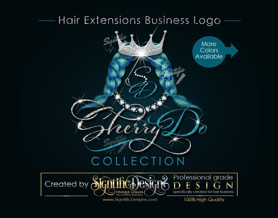 Hair Business Logo, Hair Logo, Hair Extensions Brand, Logo Update, Logo Rebrand, Virgin Hair Logo, Weave Logo, Hair Bundle Logo, Bling Logo