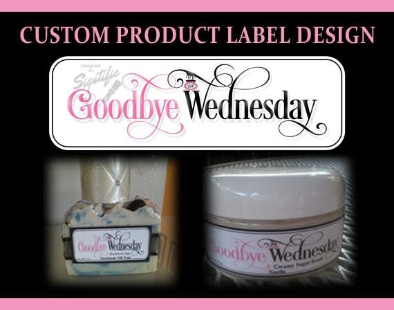 Custom product label design, soap label design, product label, sugar scrub logo design, shampoo label design, candle label design, branding