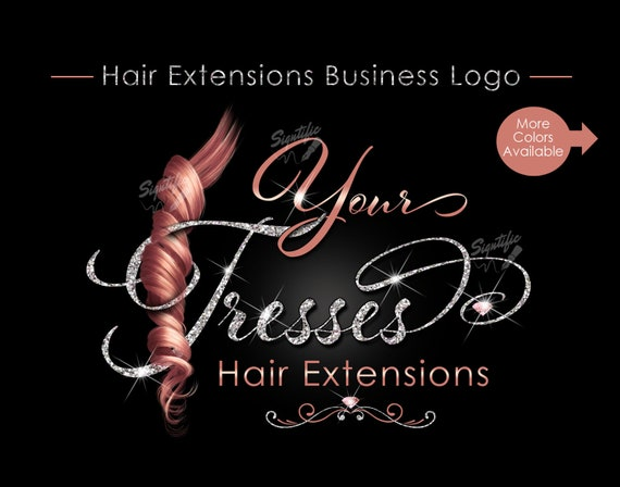 Hair Business Logo, Hair Logo, Hair Extensions Brand, Logo Update, Logo Rebrand, Virgin Hair Logo, Weave Logo, Bundle Logo, Logo Design