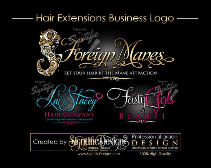 Hair Business Logo, Logo Design, Custom Logo Design, Logo, Logos, Custom logo, Business Logo, Creative logo, Logo Design Service, Shop Logo.