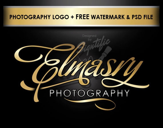 Photography Logo, Photographer Logo, Custom Logo, Logo, Logo Design, Logo Custom, Studio Logo, Logo Designer, Graphic Designer, Watermark