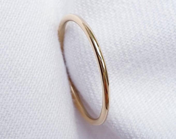Featured listing image: Gouden ring 14 karaat Hoogglans