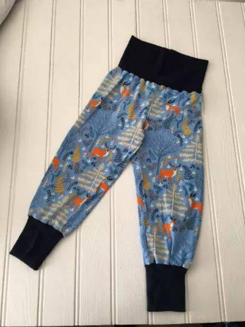 baby gift toddler leggings choice of finish Woodland leggings Christmas leggings made to order unisex  leggings sizes 0 to 5 years