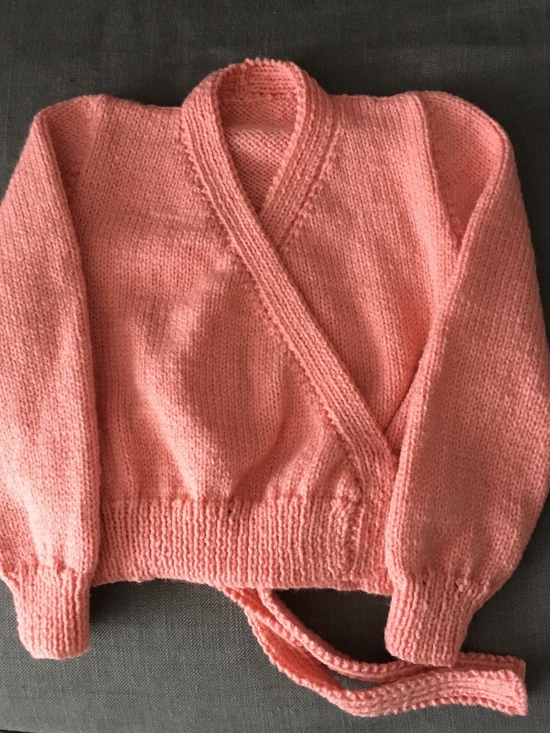 Girls Ballet Cardigan Girls cardigan girls sweater toddler image 0