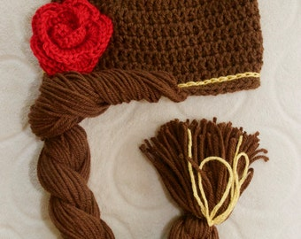 Beauty and the Beast-Inspired Belle Beanie Hat