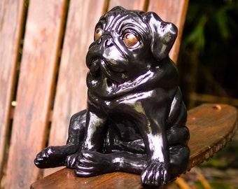 Puggy etsy black puggy bank altavistaventures Images