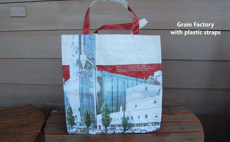 Upcycled grain bags