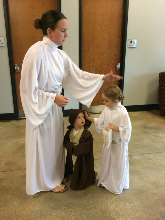 Prinzessin Leia Kostüm Star Wars Kinder Größe 2 T 5 Etsy