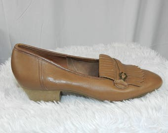 Vintage Womens Loafers - Size 6