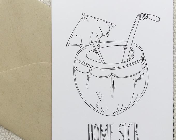 Homesick Card
