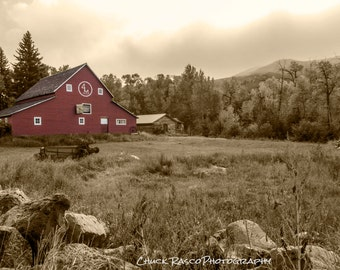 Photo Art - Landscape Photography - Barns