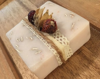 Natural Pink Clay Exfoliating Oatmeal Soap