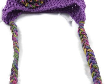 Toddler Hat - Winter Hat - Handmade Gifts - Hand Crocheted Hat - Custom Toddler Hat - Made to Order - Cute Hat for Toddler