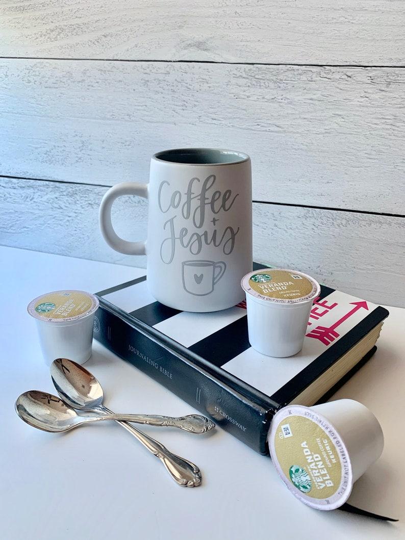 Coffe  Jesus coffee mug  stainless steel mug  camping mug  image 0