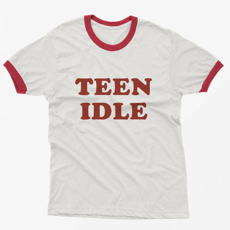 6c17d2b6 Teen idle tumblr clothing T shirts with sayings slogan Graphic   Etsy