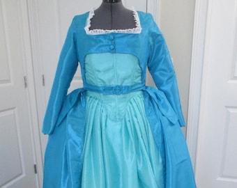 Eliza Schuyler Dress; Hamilton Gown; Hamilton Costume; Eliza Hamilton Gown; Hamilton The Musical; Rococo Gown; Baroque Gown; Georgian Gown