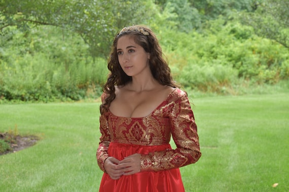 Renaissance Dress Mary Queen Of Scots Reign Dress Reign | Etsy
