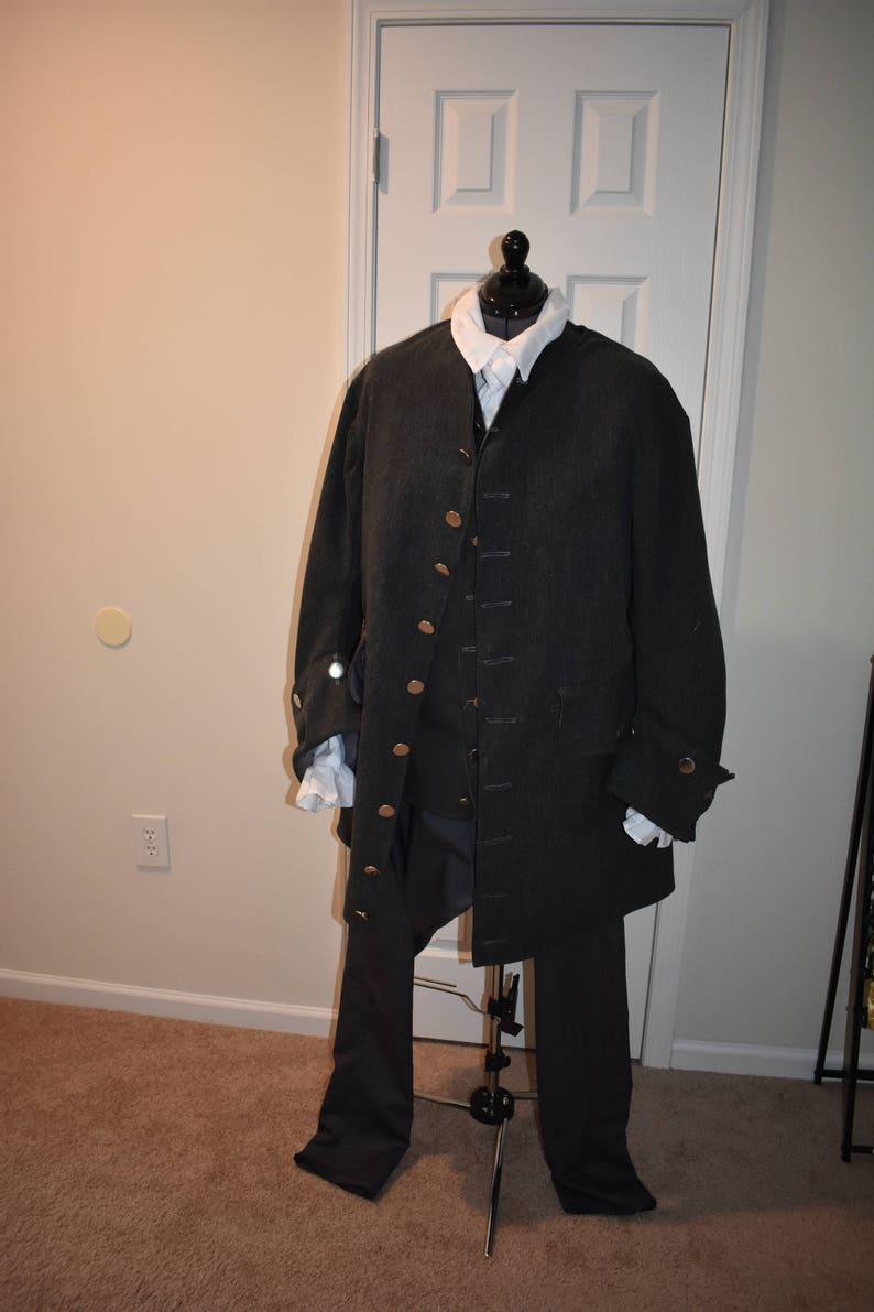 4d5d01703346cd Herrenjacke 18. Jahrhundert Schottische historische Jacke