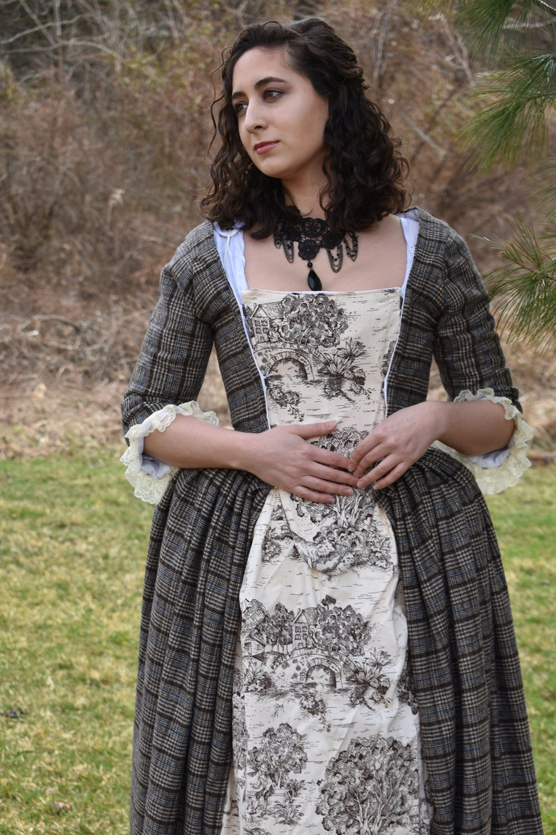 097897a78d6624 Schotse Gown Schotse kleding 18e eeuw jurk 1700 Gown