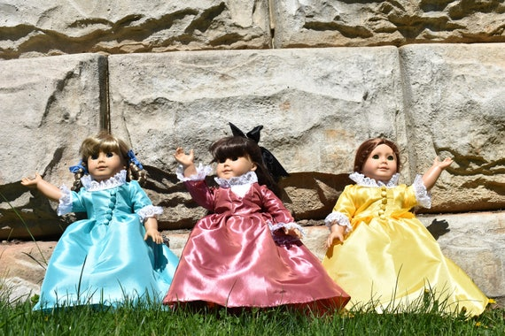 Schuyler Sister Doll Dresses American Girl Doll Dresses