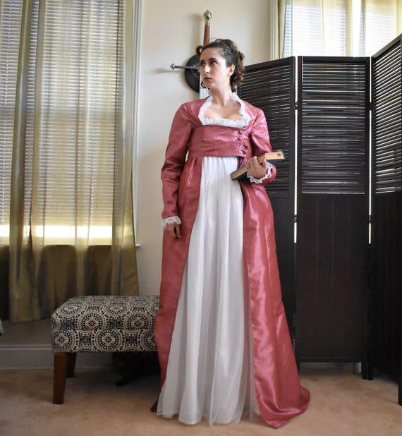 Angelica Schuyler Dress Hamilton Costume Regency Gown | Etsy