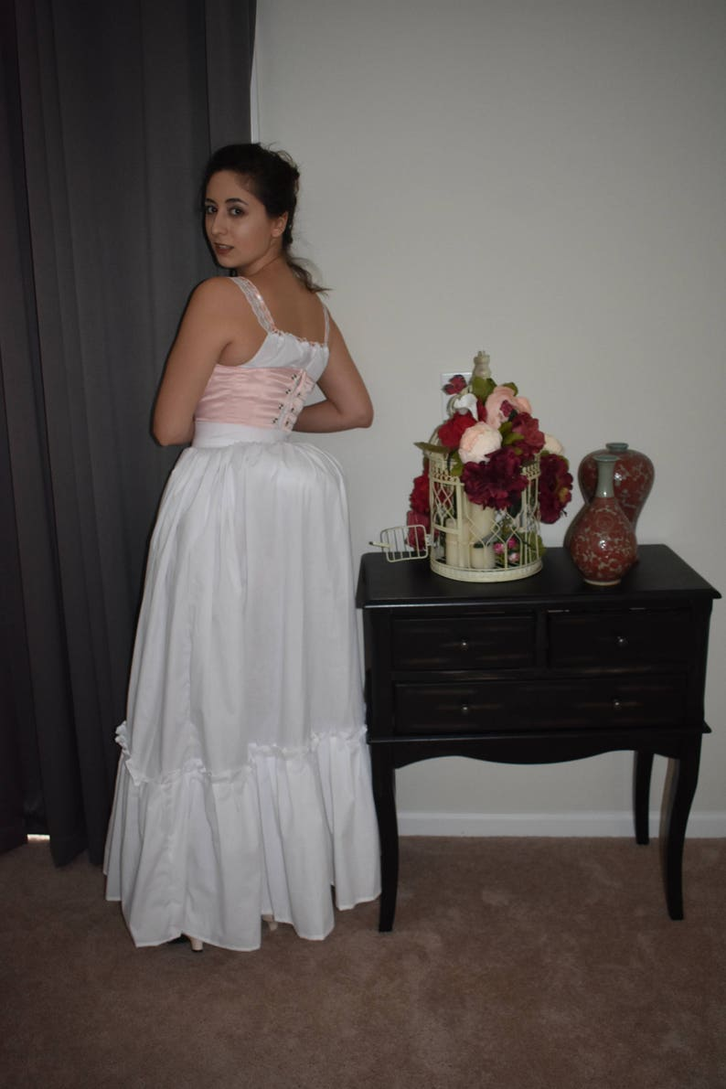 Petticoat; Cotton Underskirt; Cotton Petticoat; Westworld; Gone With The Wind; Saloon Girl; Victorian Petticoat; Bustle Petticoat