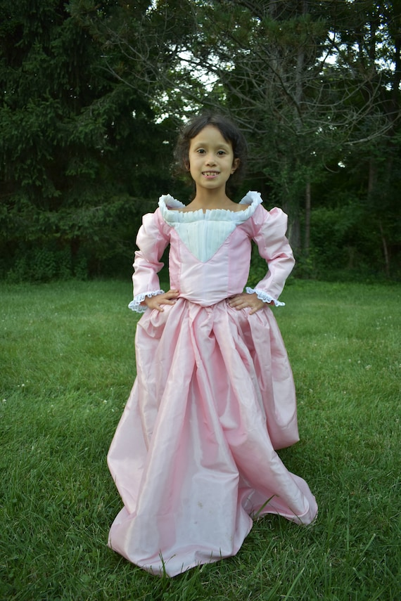 Angelica Schuyler Gown Girls Hamilton Costume Schuyler   Etsy