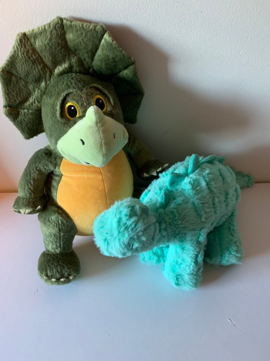 Weighted Stuffed Animal Dinosaur Triceratops 4 Lbs Sensory Toy