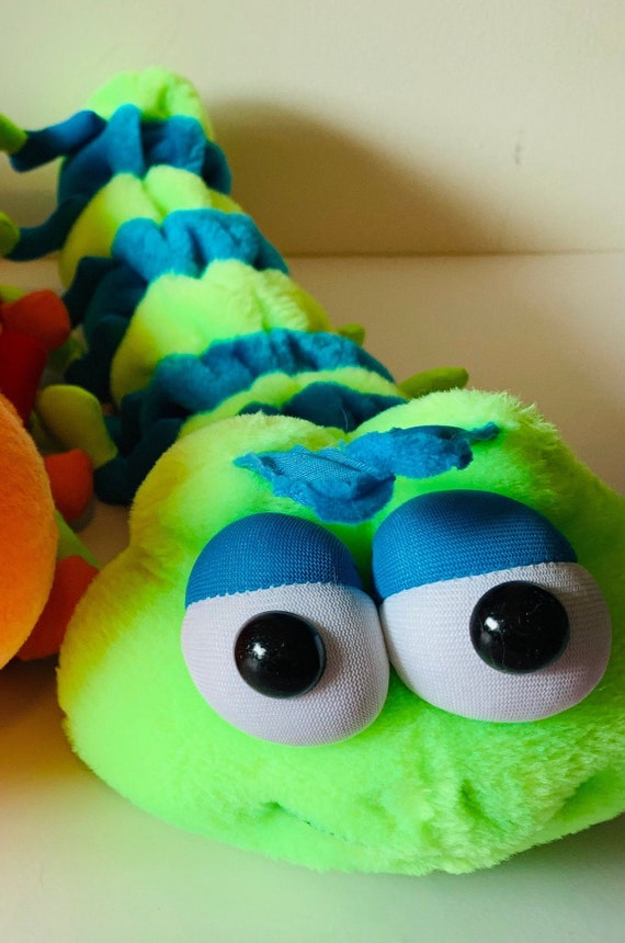 Weighted stuffed animal weighted Hungry caterpillar sensory toy with 2 lbs