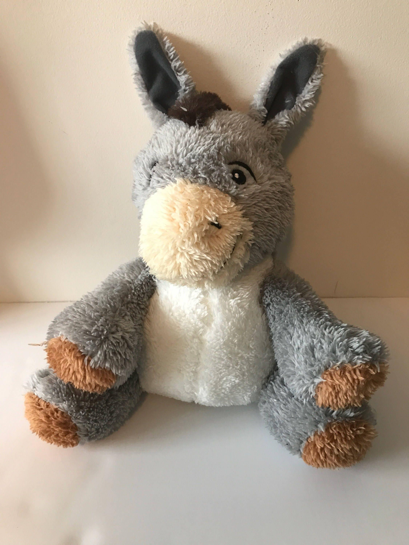 Weighted Stuffed Animal Donkey 2 1 2 Lbs Sensory Toy Washable