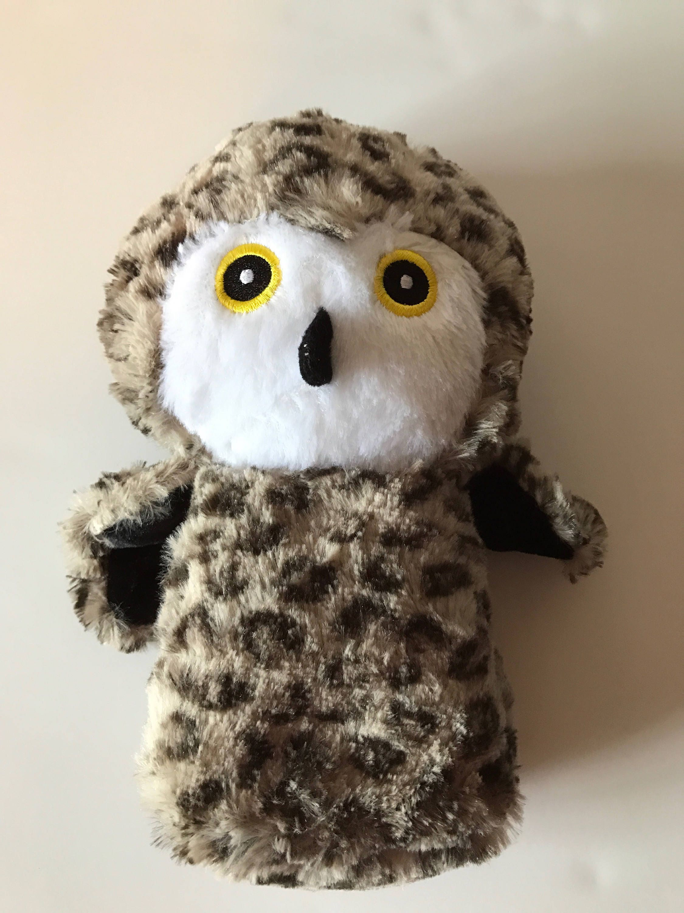 Weighted Stuffed Animal Owl 1 1 2 Lbs Sensory Toy Washable