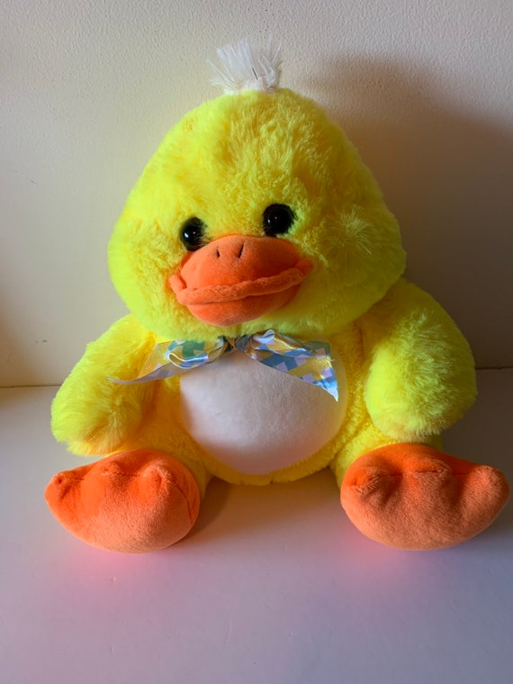 Weighted stuffed animal 4 lbs sensory toy duck head washable weighted buddy
