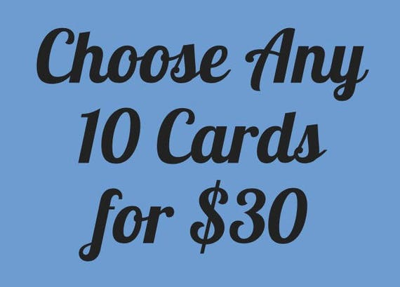 Choose Any 10 Cards for 30, Funny Card Set, Birthday Card Set, Bulk  Card Order, Naughty Card Set, Card Pack, Greeting Card Deal