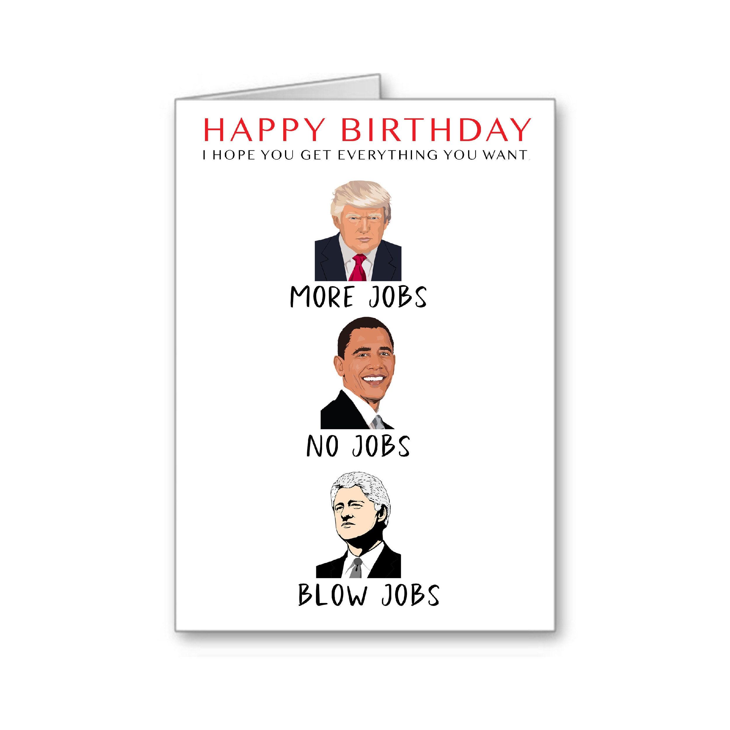 anti Trump card DIGITAL download funny birthday card INSTANT DOWNLOAD birthday card 80 Donald Trump 80th birthday card sarcastic