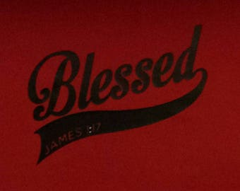 Blessed Fitted Junior Fit Tee T Shirt
