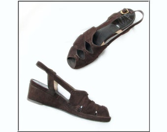 832bd0a7e5680 Vintage sling back | Etsy