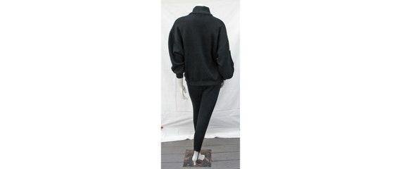 Vintage 1980s Outfit Oversize Top + Stirrup Pants… - image 3