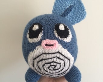 poliwag toy knitting pattern pokemon plushie pattern amigurumi