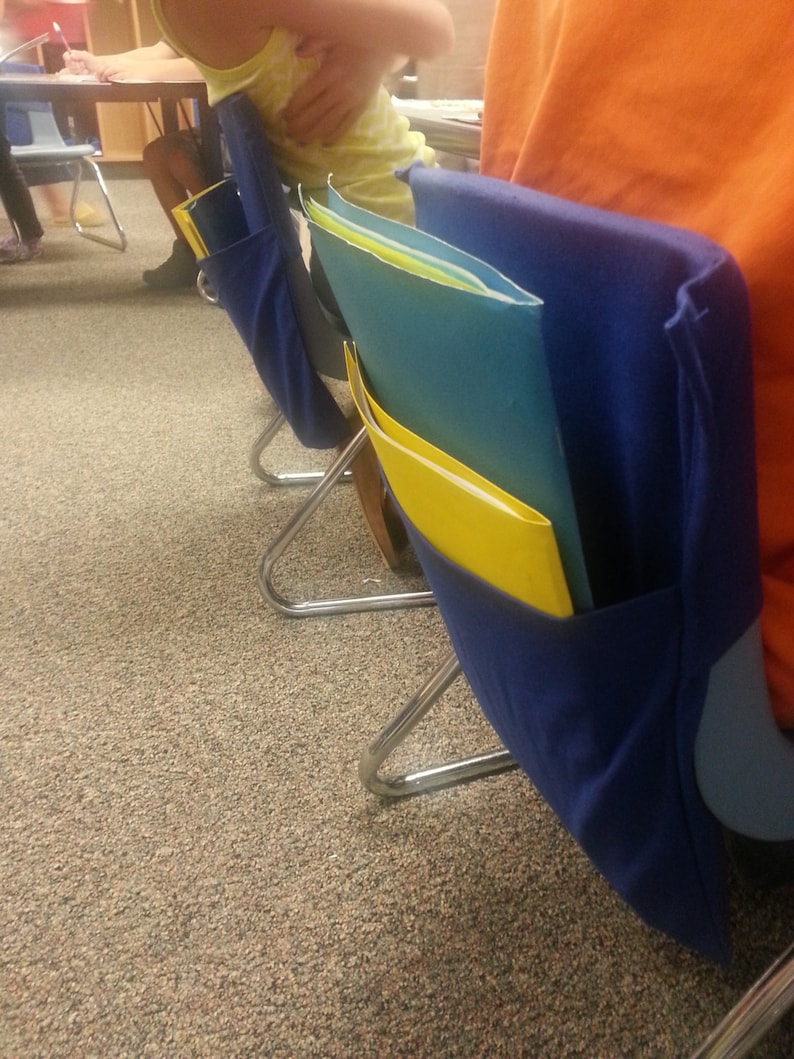 seat sacks chair back pocket 20 X-LG Canvas custom chair pockets seat pockets over 17 wide.