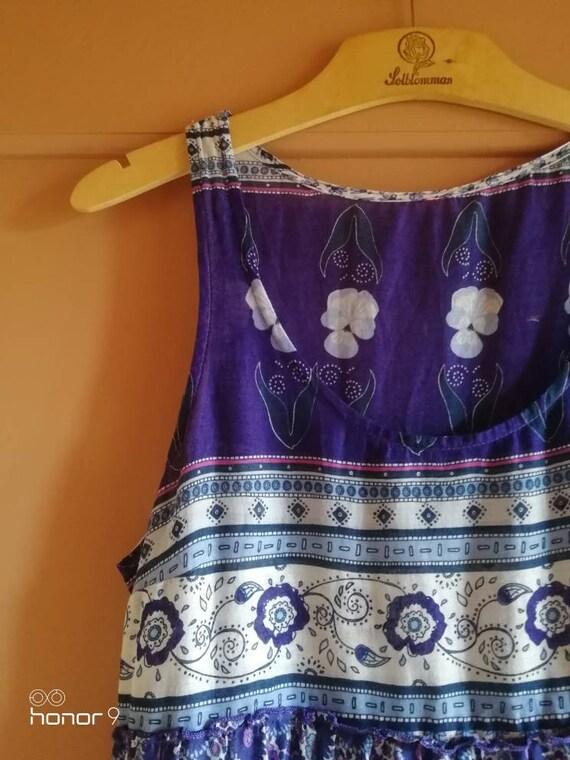 Vintage Dress Indian Cotton