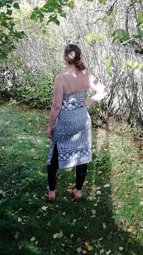 Vintage Viscose Dress