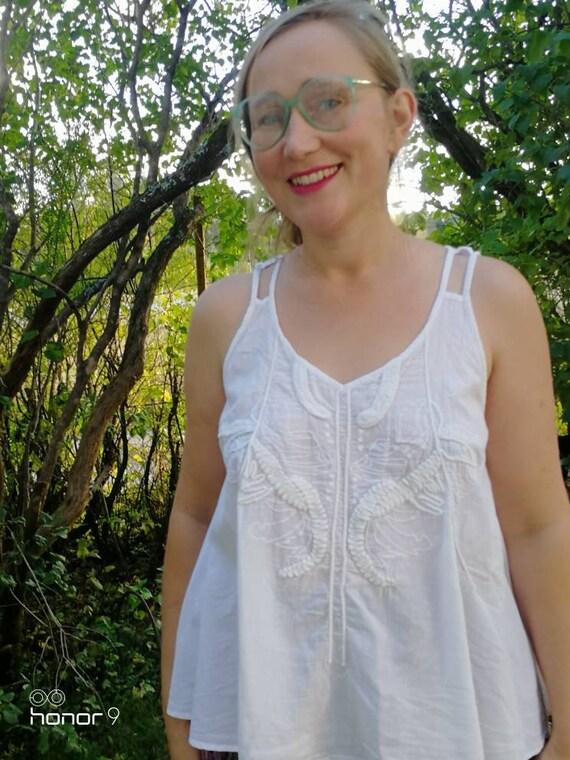 Vintage indian cotton blouse