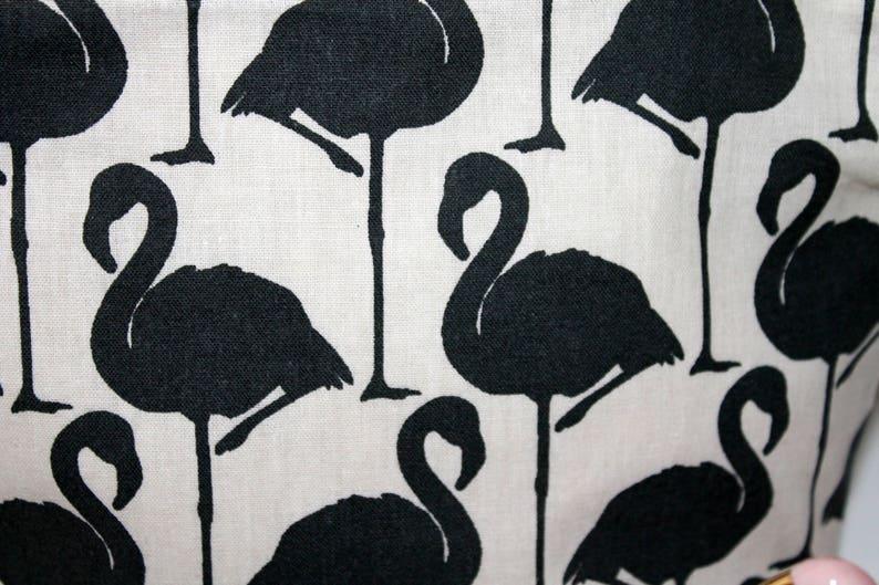 Mother/'s Day little bazaar black flamingos girl/'s treasures Make-up Birthday cotton