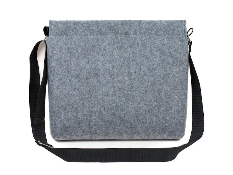 15 inch MacBook Pro bag felt laptop bag MacBook messenger image 0